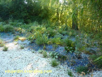 Chaumont-sur-Loire, festival des jardins 2011, le jardin 19bis en automne (30 septembre)