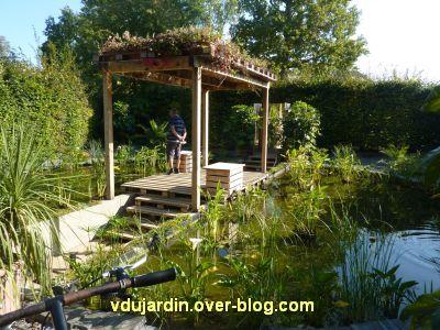 Chaumont-sur-Loire, festival des jardins 2011, le jardin 3 en automne (30 septembre)