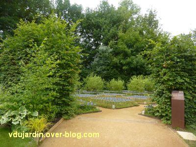 Chaumont-sur-Loire, festival 2011, le jardin 12, 1, vu depuis l'entrée