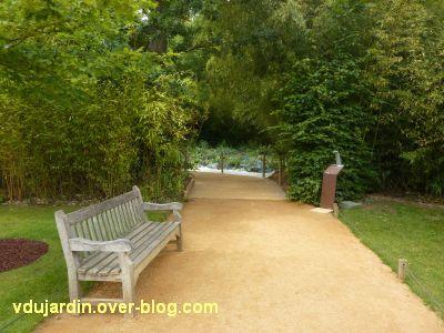 Chaumont-sur-Loire, festival 2011, le jardin 19bis, 1, l'entrée du jardin