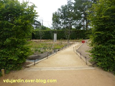 Chaumont-sur-Loire, festival 2011, le jardin 21, 1, l'entrée