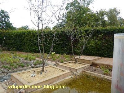 Chaumont-sur-Loire, festival 2011, le jardin 21, 4, des arbres pas en forme