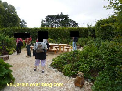 Chaumont-sur-Loire, festival 2011, le jardin 24, 1, l'entrée