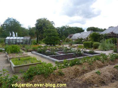 Chaumont-Sur-Loire 2011, le jardin expérimental, 8, le potager en carré