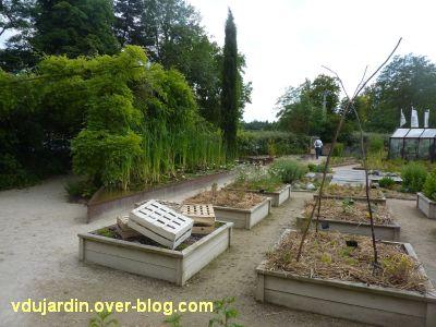 Chaumont-Sur-Loire 2011, le jardin expérimental, 09, le paillage du potager