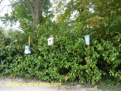 Chaumont-Sur-Loire 2011, le jardin expérimental, 13, des nichoirs