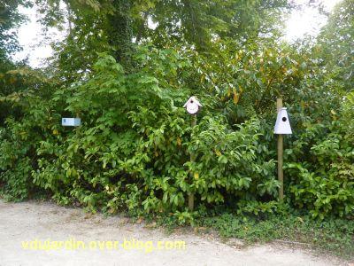 Chaumont-Sur-Loire 2011, le jardin expérimental, 14, des nichoirs