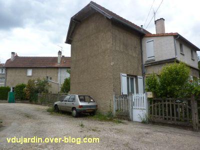 Poitiers, cité Gabillet, 4, les maisons sur l'anneau central
