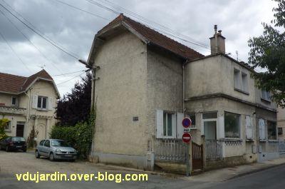 Poitiers, cité Gabillet, 5, maison sur le boulevard