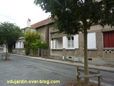 Poitiers, cité Gabillet, 6, maisons sur le boulevard