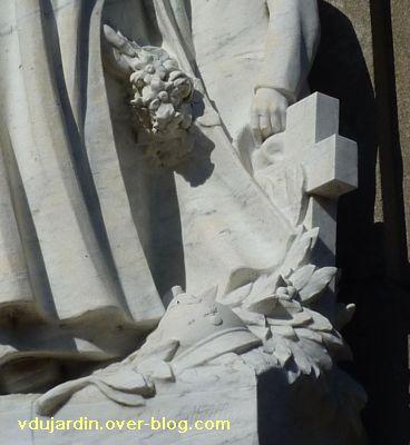 Le monument aux morts de Confolens par Coutheillas, 7, la tombe du père