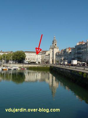 Le monument de l'amiral Duperré à La Rochelle, 01, le monument sur le vieux port
