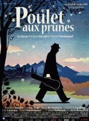 Affiche de poulet aux prunes, de Marjane Satrapi et Vincent Paronnaud