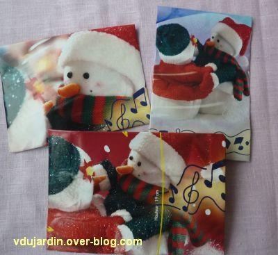 Opération bonhomme de neige 2011, 10, des enveloppes