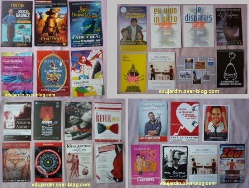 Envoi de Capucine O en décembre, cartes à publicité, 1