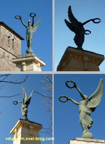 Le monument aux morts de Lessac (Charente), 2, les quatre faces
