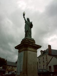 La liberté de Châteauneuf-sur-Charente