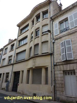 Poitiers, immeubles des frères Martineau, vue 3, rue d'Alsace-Lorraine, vue générale