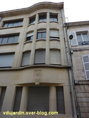 Poitiers, immeubles des frères Martineau, vue 4, rue d'Alsace-Lorraine, vue générale