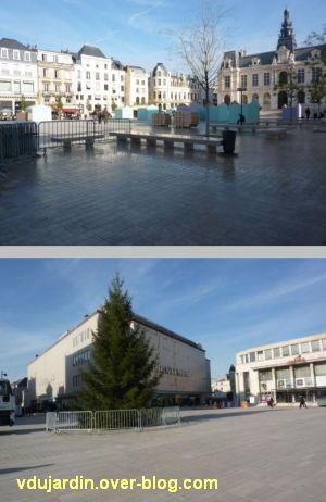 Poitiers, place d'Armes, fin novembre 2011, 4, gare au gel, déjà avec l'eau, ce n'est pas terrible