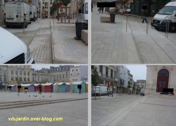 Poitiers, place d'Armes, fin novembre 2011, 2, petites améliorations