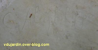 Tours, les mystères douloureux de C. Alaphilippe, 2, signature