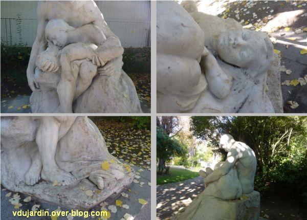 Tours, les mystères douloureux de C. Alaphilippe, 4, quatre vues de détail
