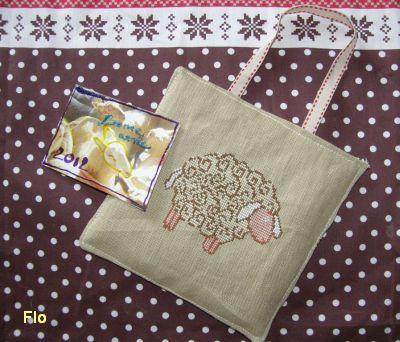 Une pendouille avec un mouton pour Flo