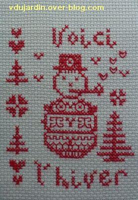 Noël 2010 par Lili HR, le bonhomme de neige
