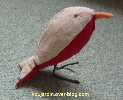 Un oiseau d'après un modèle de Capucine O
