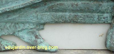 Poitiers, le musée Sainte-Croix, 04, la signature Jonchère