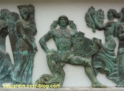 Poitiers, le musée Sainte-Croix, 07, le centre des reliefs