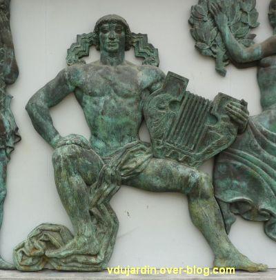Poitiers, le musée Sainte-Croix, 08, le relief central