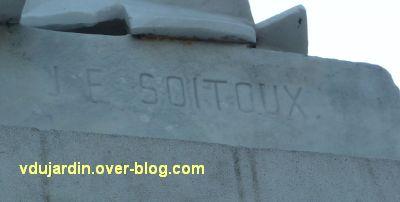Paris, la République de Jean-François Soitoux, 2, la signature de Soitoux