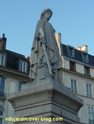 Paris, la République de Jean-François Soitoux, 5, son côté droit