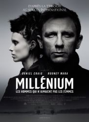 Affiche de Millenium de David Fincher