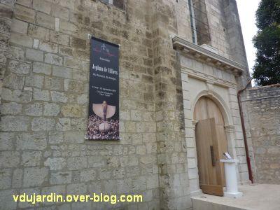 Juillet 2011, art contemporain, 3, Jephan de Villiers à la chapelle des Augustins à Poitiers