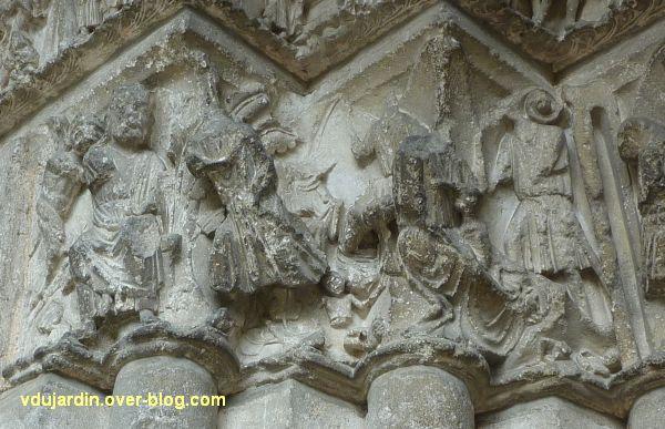 Poitiers, portail Saint-Michel de la cathédrale, gauche, 14, le massacre des innocents