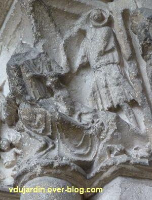 Poitiers, portail Saint-Michel de la cathédrale, gauche, 18, massacre des innocents