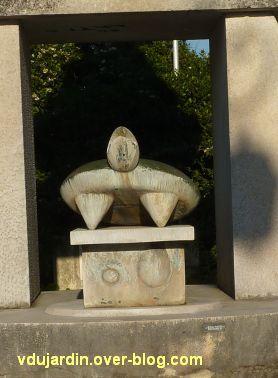 Amboise, la Fontaine de Max Ernst, 5, la grande tortue