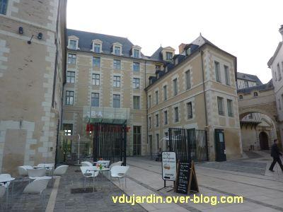 Façade du musée des beaux-arts à Angers
