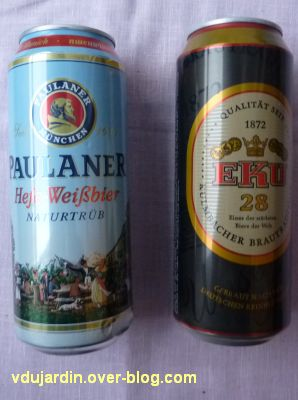 Deux bières allemandes
