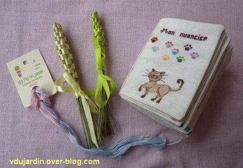 Les merveilles de Cocoperlette, 1, fusettes, fil et nuancier