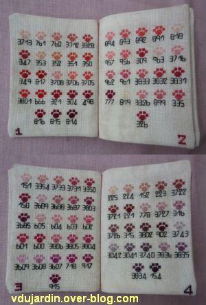 Les merveilles de Cocoperlette, 3, pages 1 à 4 du nuancier