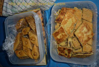 Le gros colis reçu d'Algérie, 4, des pâtisseries