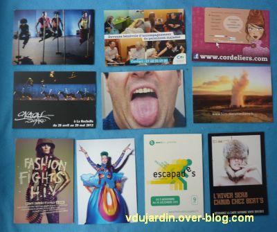 Dalinele en janvier, 3, cartes à publicité