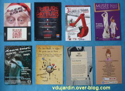 Dalinele en janvier, 4, cartes à publicité