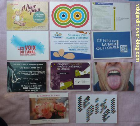 Dalinele en mars, 4, cartes à publicité