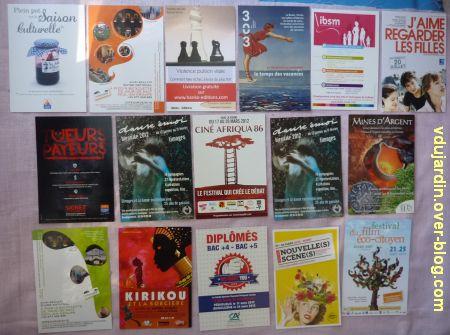 Dalinele en mars, 5, cartes à publicité