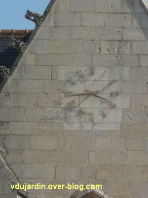 Défi photo horloges poitevines, 3, sur Notre-Dame-la-Grande
